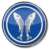 Guild sign of a fisherman Stock Photography