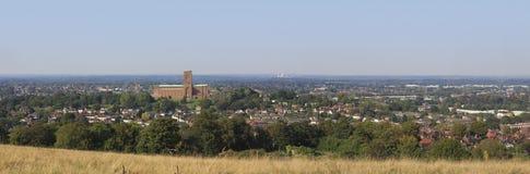 Guildford, панорама Стоковое Изображение RF