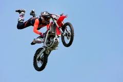 Guildford, Inglaterra - 28 de maio de 2018: Motocicleta do temerário do conluio livrada fotografia de stock