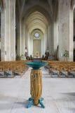 Guildford katedry chrzcielnica fotografia stock