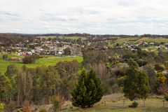 Guildford. The town of Guildford in the Victorian goldfields region of Victoria, Australia stock images