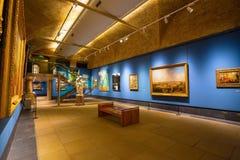 Guildhall Art Gallery i London, UK Royaltyfria Bilder
