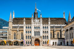 Guildhall in the City of London, England Stock Image