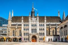 Guildhall in de Stad van Londen, Engeland Stock Afbeelding