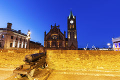 Guildhall in Derry Stock Foto's