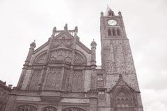 Guildhall Derry - Londonderry som är nordliga - Irland Fotografering för Bildbyråer