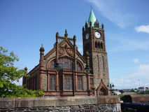 Guildhall of Derry. Guildhall in Derry, Northern Ireland stock photo