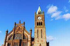 Guildhall in Derry Royalty Free Stock Photos