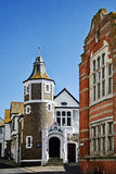 The Guildhall ~ Lyme Regis royalty free stock photo