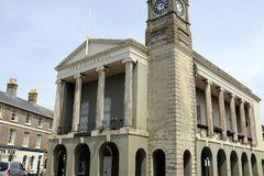 The Guildhall, Newport, Isle of Wight, UK. stock photos