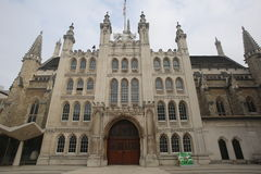 Guildhall stad av London Arkivfoton
