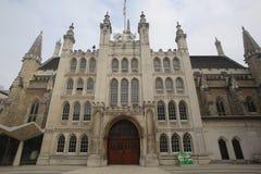 Guildhall, Stad van Londen stock foto's