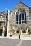 Guildhallen gör till kung Lynn Norfolk royaltyfri foto