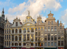 Guildhalls facades, Brussels Stock Photography