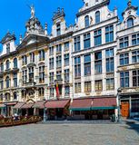 Guildhalls on the Grand Place, Brussels Royalty Free Stock Photos