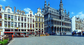 Guildhalls on the Grand Place, Brussels Stock Photo