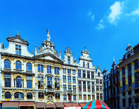Guildhalls on the Grand Place, Brussels Stock Photos