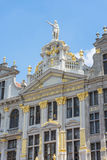 Guildhalls on the Grand Place of Brussels in Belgium. Royalty Free Stock Photography