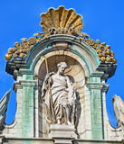 Guildhalls on Grand Place in Brussels La Brouette Royalty Free Stock Photo