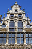 Guildhalls in the Grand Place in Brussels. Stock Images