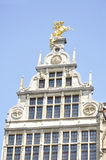 Guildhouses at Grote Markt in Antwerp, Belgium Royalty Free Stock Photography