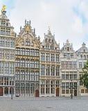 Guildhousesen av Antwerp Fotografering för Bildbyråer