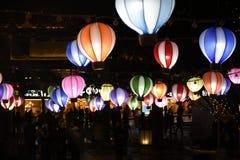 Guilin, άποψη νύχτας της Κίνας στοκ εικόνες