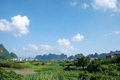 Τοπίο της Κίνας Guilin στοκ φωτογραφία