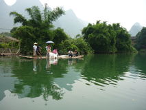 Guilin, China. A popular travel destination in Guangxi province royalty free stock photography