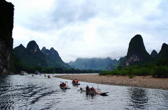 Guilin China scenery Stock Photography