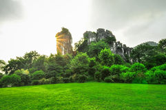 Guilin China Seven Star Park and Karst Yangshuo. Stock Image