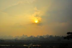 Guilin China Seven Star Park and Karst Yangshuo. Royalty Free Stock Image