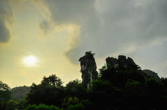 Guilin China Seven Star Park and Karst Yangshuo. Royalty Free Stock Image