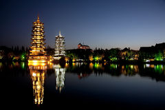 Guilin Chiny Obrazy Royalty Free