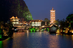 Guilin Cina Fotografie Stock Libere da Diritti