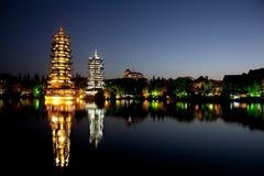Guilin Cina Immagini Stock Libere da Diritti