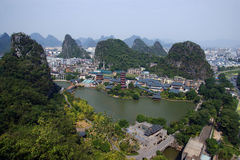 Guilin city in China stock photo
