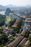 Guilin city in China Royalty Free Stock Photos