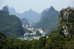 Guilin city in China Stock Image