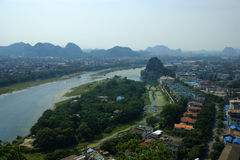 Guilin city in China Stock Photography