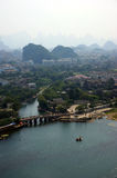 Guilin city in China Stock Images