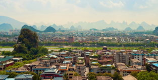 Guilin city view Stock Photography
