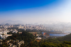 Guilin City. Guilin is a world-famous scenic city and the historical and cultural city Royalty Free Stock Photography