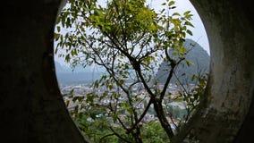Guilin, ciudad de Yangshuo metrajes