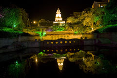 Guilin colorful night scenery guangxi Stock Image