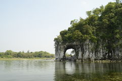 Guilin Elephant Trunk Hill Royalty Free Stock Images