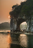 Guilin Elephant Trunk Hill Stock Photography