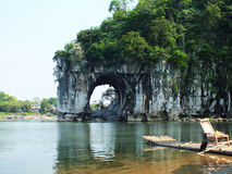 Guilin Elephant Trunk Hill Stock Photo