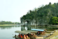 Guilin Elephant Trunk Hill Royalty Free Stock Image