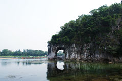 Guilin Elephant Trunk Hill Royalty Free Stock Photos